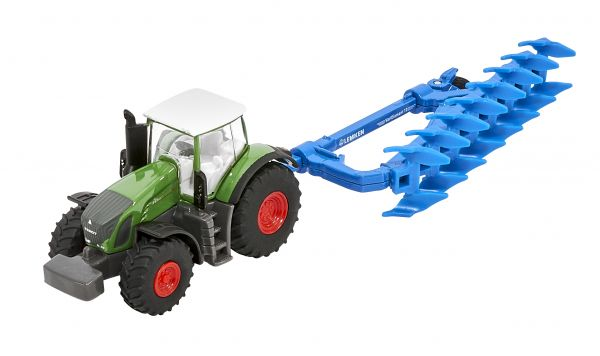 Semi-mounted plough VariDiamant with tractor