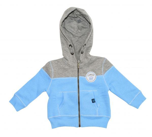 Sweat jacket blue