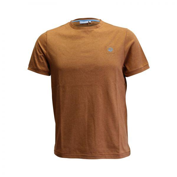 Herren T-Shirt, braun 2020