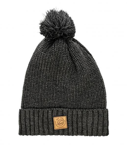 Woollen pom-pom cap
