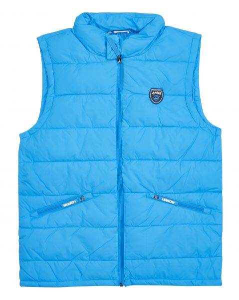 Men's vest winter cyan