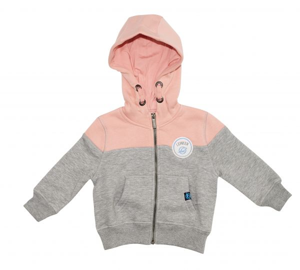 Sweat jacket pink