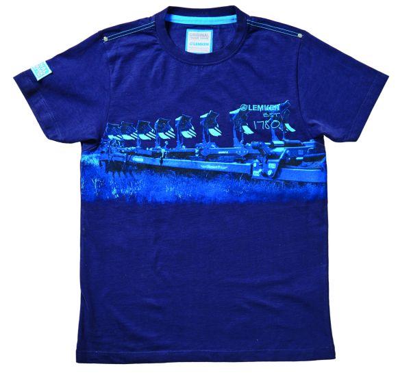 Men's t-shirt navy blue