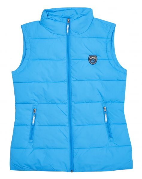 Damen Vest Winter cyan