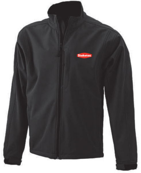 Steketee softshell jacket men