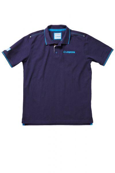 Herren Poloshirt, dunkelblau
